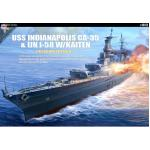 AC14113 USS INDIANAPOLIS PREMIUM EDITION 1:350