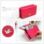 Smart Phone Multi Wallet - Hot Pink