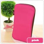 Folding Pencil Case - Pink