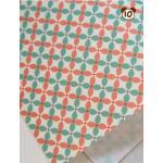 ผ้าสักหลาดเกาหลีลาย Fine Light Traditional (Pre-order) No.J Pink Mint