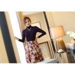 เสื้อคอเต่า Spike Plus Velvet ( Violet_M )
