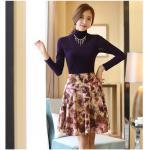 เสื้อคอเต่า Spike Plus Velvet ( Violet_XL )