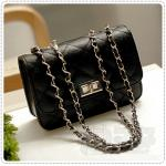 Mini Shoulder Bag - Black