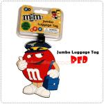 M&M Tag - Red