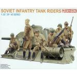 DRA6197 SOVIET INFANTRY TANK RIDERS (1/35)