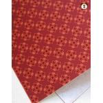 ผ้าสักหลาดเกาหลีลาย Fine Light Traditional (Pre-order) No.B Red