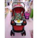 รถเข็นเด็ก ATTOON รุ่นจัมโบ้ (มีเสียงเพลง) สีแดง
