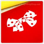 Ribbon Pencilcase - Red