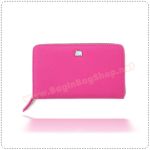 BankBook Wallet - Hot Pink