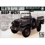 35S15 WC51 3/4T WEAPONS CARRIER 1/35