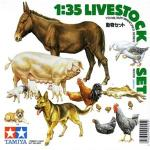 TA35128 LIVESTOCK SET 1/35