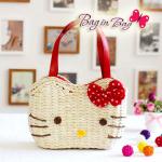 กระเป๋าถือ Hello Kitty (สีแดง)