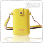 Sleeve Mobile Pouch case - Yellow