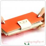 Too Slim Wallet - Orange