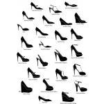 คำศัพท์ภาษาอังกฤษประเภทของรองเท้าชนิดต่างๆ