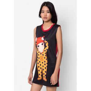 Young Lady Print Dress