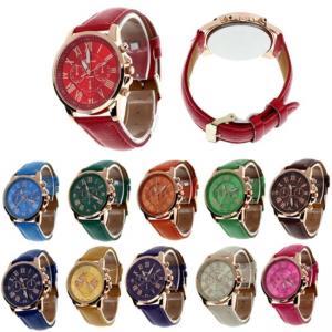นาฬิกาข้อมือ Geneva Chronograph Watch