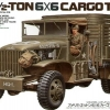 TA35218 US.2.5 TON 6x6 CARGO TRUCK 1/35