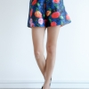 Mirror Dress's The Flower Silky Shorts - Green