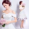 (Pre-Order) ชุดแต่งงาน <ไหล่ปาด> รหัสสินค้า WDS0147