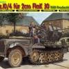 DRA6739 SD.KFZ.10/4 FUR 2 CM FLAK 30 (1/35)