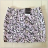 Topshop Heart Purple Black Skirt Size Uk10