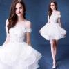 (เช่าชุดราตรี) ชุดแต่งงาน <สีขาว> รหัสสินค้า EK_WDS0113