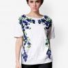 เสื้อเบลาส์ Sequins Lavender