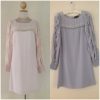 Warehouse blouse grey Dress Size uk8 =1 uk10=1