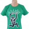 H&M Divided Knot Vilolence Collection T-Shirt Keith Haring Style Size L