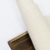 ผ้าสักหลาดเกาหลี สีพื้น 2.5 mm ขนาด 45x36 cm/ชิ้น (Pre-order) BP-14 Dot กันลื่นสีครีม