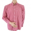 Burton Red Checked Shirt Size M** (ขนาดจริงเท่า size L)