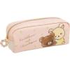 กระเป๋าดินสอ Rilakkuma ดอกไม้สีชมพู