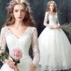 (Pre-Order) ชุดแต่งงาน <แขนยาว> รหัสสินค้า WDL0618