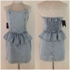 Miss selfridge denim dress Size uk10