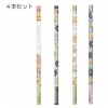 ชุดดินสอไม้ iiwaken 2B (4 แท่ง)
