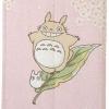 ผ้าม่านกั้นประตู Totoro Linen Noren (สีชมพู)