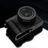 Gariz Leather Half-case for Lumix LX100 : Black