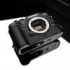Gariz Leather Half-case for Fuji X-T1 : Black