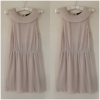 Topshop Grecian style Light Pink/Peach Dress