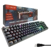 OKER RGB K84 Mechanical Blue Switch (Black)