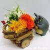 กระถางดอกไม้ My Neighbor Totoro (รถเข็น)