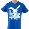 SUPERDRY T-SHIRT BLUE SIZE L