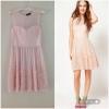 Warehouse lace dress Size uk10