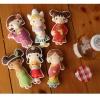 ผ้าสักหลาดเกาหลี ตุ๊กตาพื้นบ้าน (Girl) size 1mm มี 7 แบบ ขนาด 45x30 cm/ชิ้น (Pre-order)