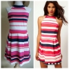 Lipsy Striped Dress Size uk10
