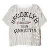 เสิ้อยืด Brooklyn Printed Dolman Sleeved