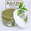 Bai-cha Scrub Milk by Dudeezone 370 g. ใบชาสครับ แค่ขัดก็ขาวใส