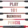 (Pre-order) Etude House Play 101 Blending Pencil ดินสอเมคอัพสารพัดประโยชน์