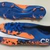 รองเท้าฟุตบอล Nike Mercurial CR7 สีน้ำเงิน